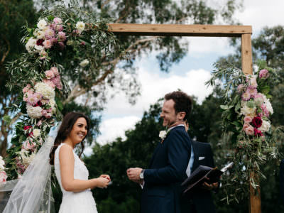 Katie + Nathan // The Farm, Yarra Valley
